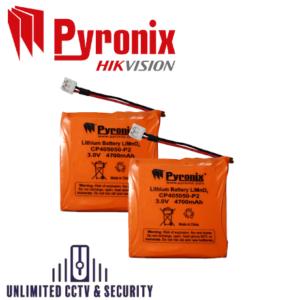 Pyronix Enforcer BATT-ES1 Lithium Sounder Battery for DELTA-MOD-WE – Pack of 2