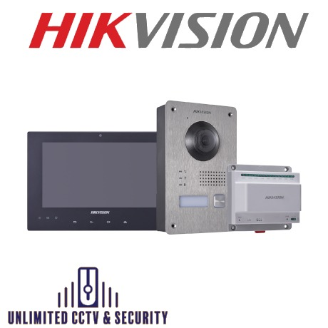 HIKVISION DS-KIS701 2 Wire Intercom Kit
