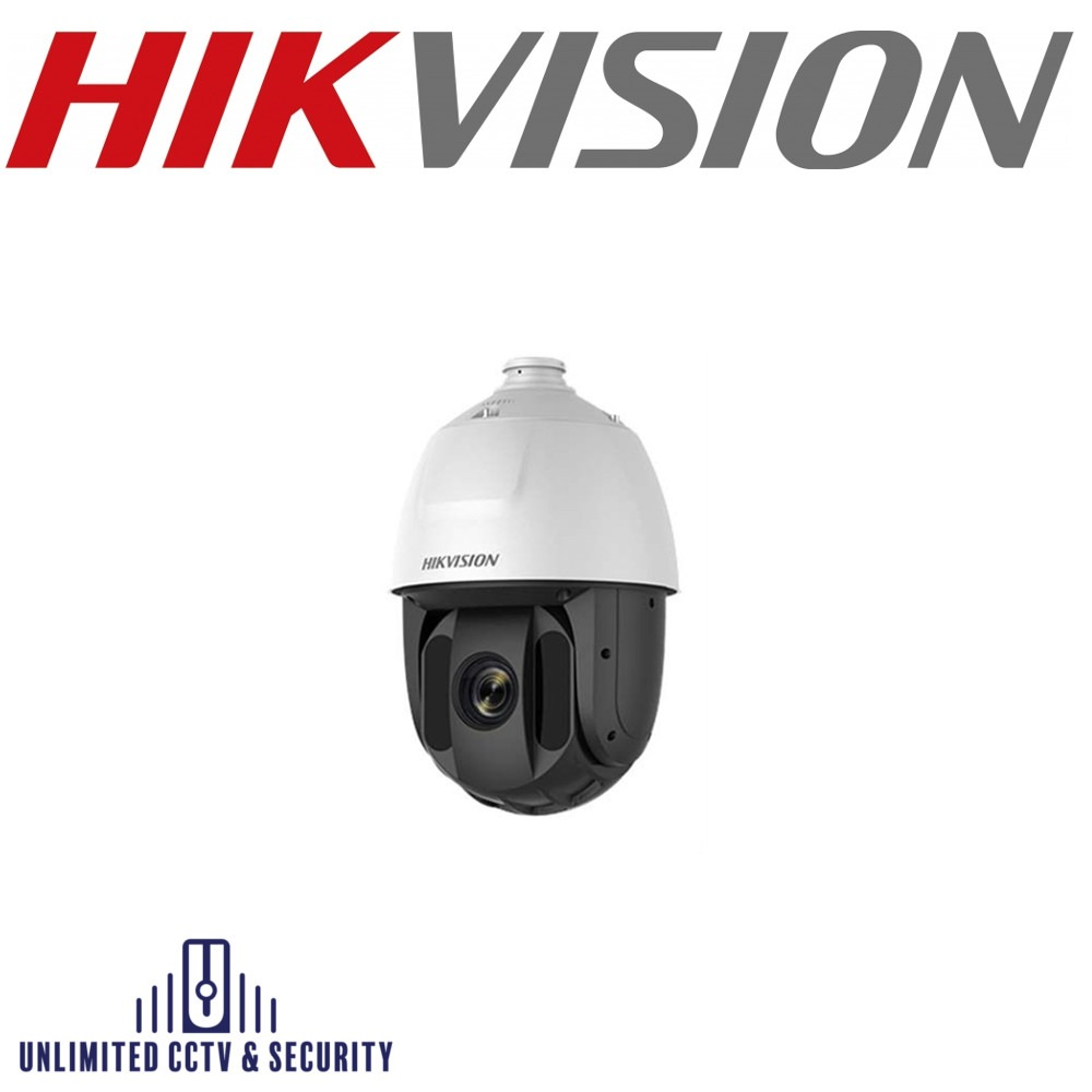 Hikvision DS-2AE5225TI-A captures high quality images in poor light environments. The black glass increases luminosity allowing IR to reach up to 150m.