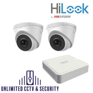 HILOOK IP 2 Camera kit with 2MP cams and 30m IR