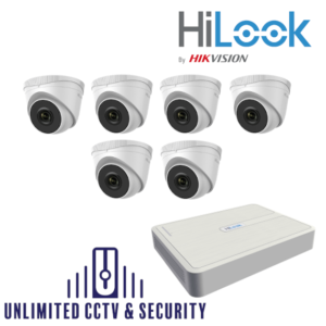 HILOOK IP 6 Camera kit with 2MP cams and 30m IR