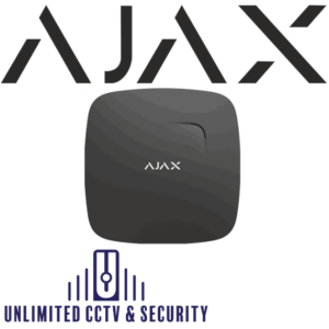 AJAX Fire Protect Plus wireless smoke heat and CO detector -Black AJA-8218