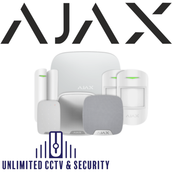 ajax hub kit3 white