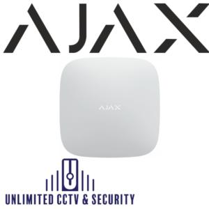 AJAX Hub2 Surveillance Control Panel – Dual GSM & Ethernet – White AJA-14910
