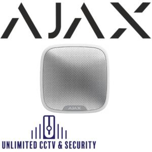 AJAX street siren wireless sounder – White AJA-7830