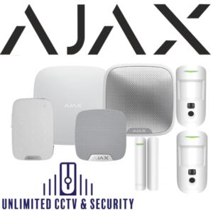 AJAX AJA-17738 Wireless Camera kit 3 in white