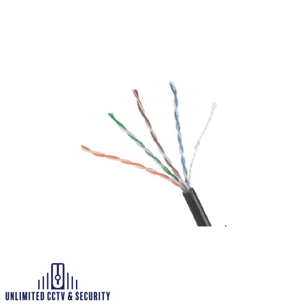 305M CAT5 DUCT GRADE UTP cable, great for out door use.