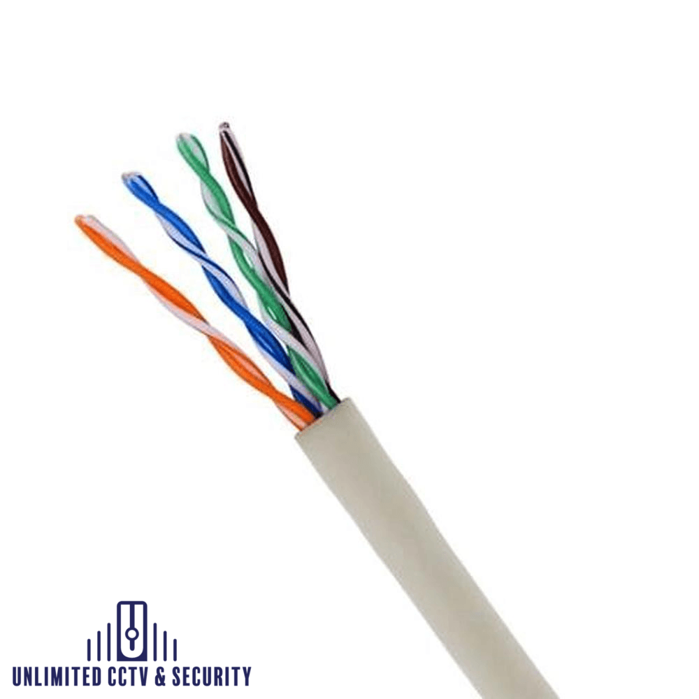 305M gray internal CAT5 UTP cable. Great for indoor use.