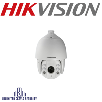 """Hikvision DS-2DE7225IW-AE 2MP 25× Network IR Speed Dome uses a 1/2.8"""" progressive scan chip. The 25× optical zoom lens offers more detail over large areas."""