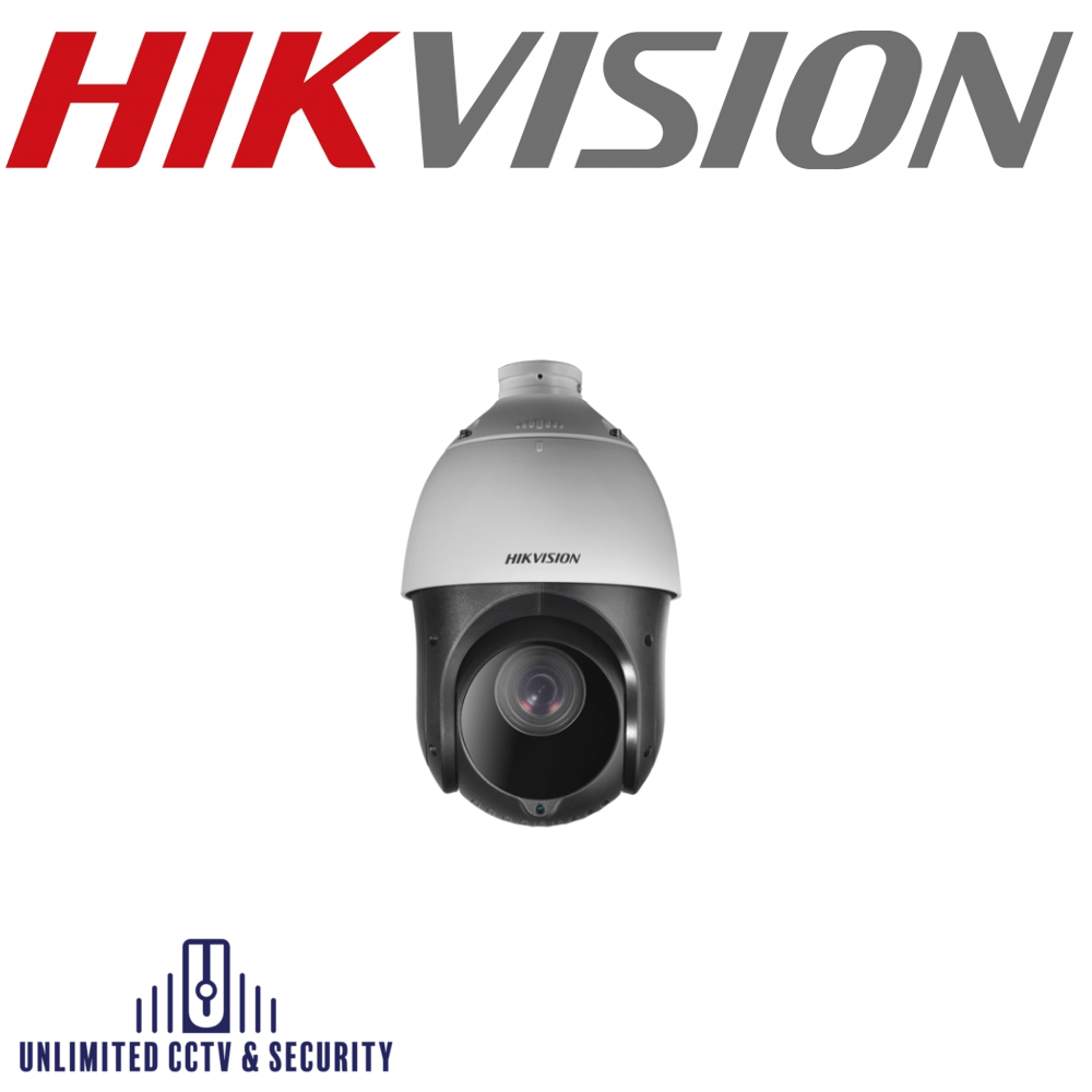 Hikvision DS-2AE4215TI-D captures high quality images in poor light environments. The black glass increases luminosity allowing IR to reach up to 100m.
