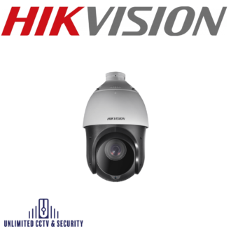 """Hikvision DS-2DE4225IW-DE 2MP 25× Network IR Speed Dome uses a 1/2.8"""" progressive scan chip. The 25× optical zoom lens offers more detail over large areas."""