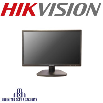 "HIKVISION DS-D5022QE-B 21.5"" LED Monitor with backlit technology with full HD 1920×1080, a wide view angle: 170°(H)/160°(V) and multiple inputs: HDMI, VGA."