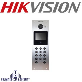 Video Intercom Metal Door Station, auto-uploads alarm messages to master station or the client once the duress code is entered toopen the door.